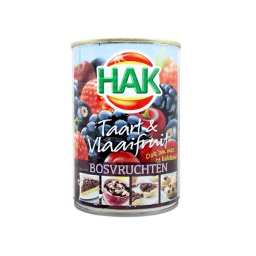 Hak Taart&Vlaaifruit Bosvruchten 430g/ Relleno de Frutas del Bosque