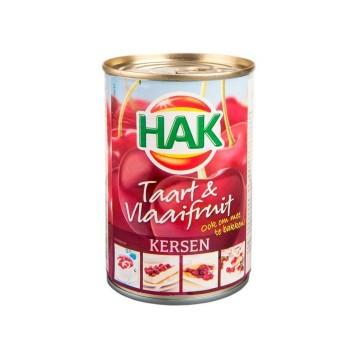 Hak Taart&Vlaaifruit Kersen 430g/ Relleno de Cerezas