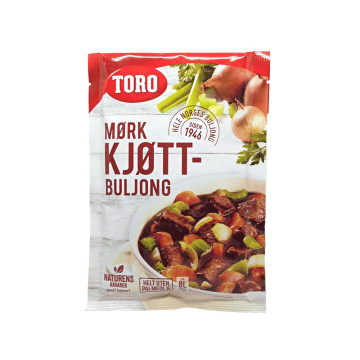 Toro Mørk Kjøttbuljong Pulver 150g/ Meat Broth Powder