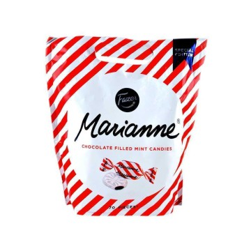 Fazer Marianne 120g/ Mint Candies Liquorice covered