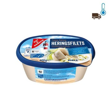Gut&Günstig Heringsfilet Sahne 400g/ Herrings in Cream Sauce