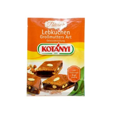 Kotányi Lebkuchen Großmutters Art 30g/ Mix for Spiced Bread