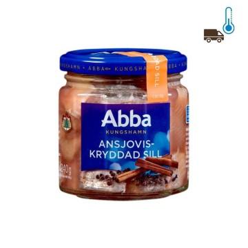 Abba Ansjoviskryddad Sill 500g/ Spiced Anchovies