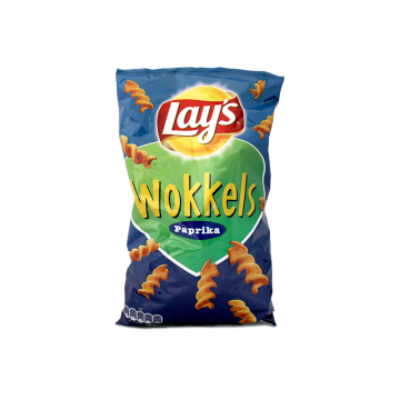 Lay's Wokkels Paprika 115g/ Patatas Fritas con Pimentón