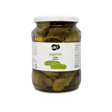 Ok€ Augurken Middel 670g/ Pickles