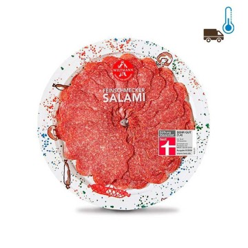 Wiltmann Feinschmecker Salami 80g/ Salami on a Plate