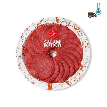 Wiltmann Salami Pure Pute 80g/ Salami de Pavo