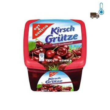 Gut&Günstig Kirsch Grütze 1Kg/ Cherries Jelly
