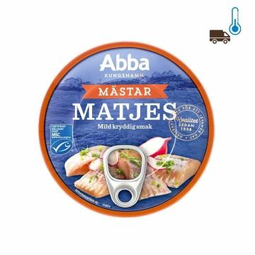 Abba Mästarmatjes 200g/ Arenques Condimentados Suaves