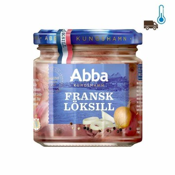 Abba Fransk Löksill 240g/ Herrings with French Onion
