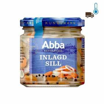 Abba Inlagd Sill 240g/ Herrings with Vegetables
