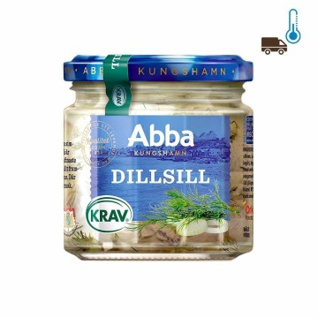 Abba Dillsill 275g/ Herrings with Dilland Onions