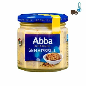 Abba Senaps Sill 600g/ Herrings in Mustard Sauce