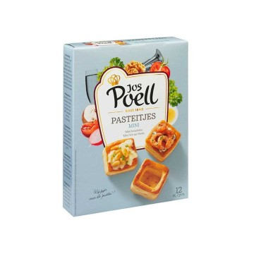 Jos Poell Mini Pasteitjes x12/ Mini Vol au Vents