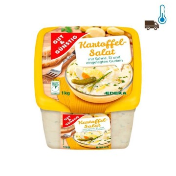 Gut&Günstig Kartoffelsalat Mit Sahne 1Kg/ Ensalada de Patata
