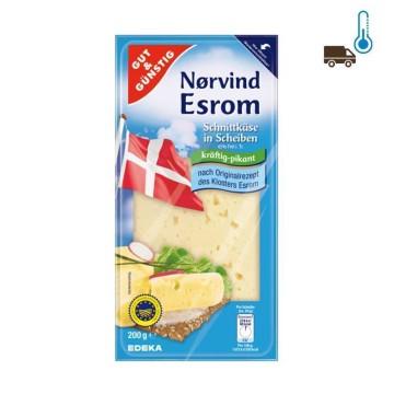 Gut&Günstig Nørvind Esrom Kräftig-Pikant 200g/ Spicy Cheese