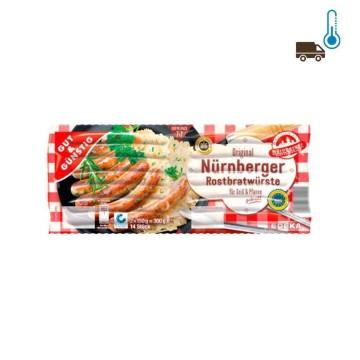 Gut&Günstig Nürnberger Rostbratwürste x2 300g/ Sausages for Grill