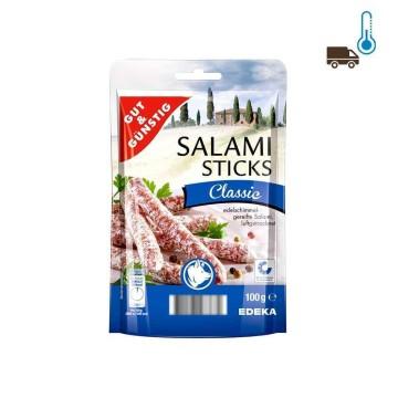 Gut&Günstig Salami Sticks Classic 100g/ Snack de Salami