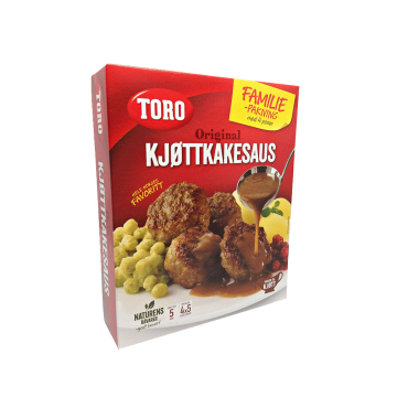 Toro Kjøttkakesaus Familie Pakning / Salsa para Albóndigas 180g