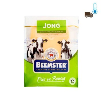 Beemster Jong Kaas Plakken 150g/ Sliced Young Cheese