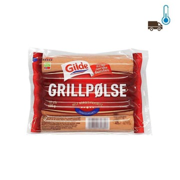 Gilde Grillpølse x10 600g/ Norwegian Sausages