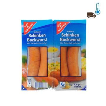 Gut&Günstig Schinken Bockwürst 400g/ Sausages