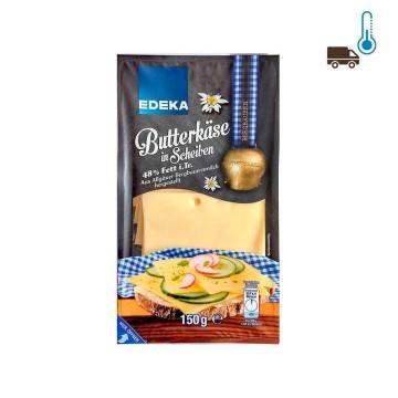 Edeka Butterkäse in Scheiben 48% Fett 150g/ Queso Cremoso