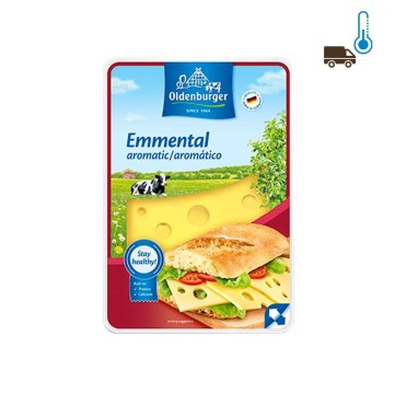 Oldenburger Emmental en Lonchas 200g/ Slices