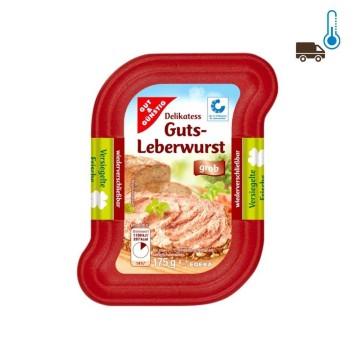 Gut&Günstig Leberwurst Grob 175g/ Pork Liver Pate