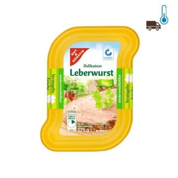 Gut&Günstig Leberwurst Fein 175g/ Pork Liver Pate
