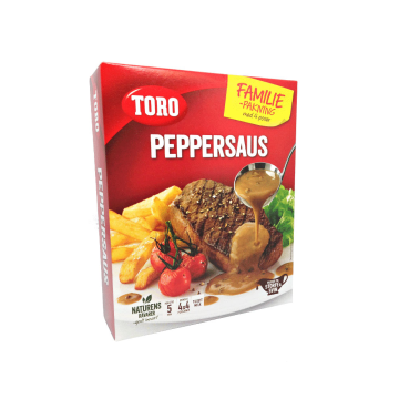Toro Peppersaus Familie Pakning 4x21g/ Salsa Pimienta Pack Familiar