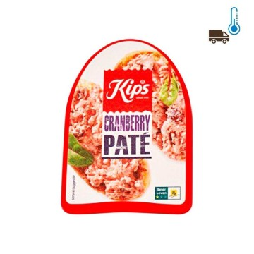 Kips Pate Cranberry 125g/ Pate with Cranberries