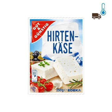Gut&Günsitg Weichkäse Hirtenkäse 250g/ Feta Cheese