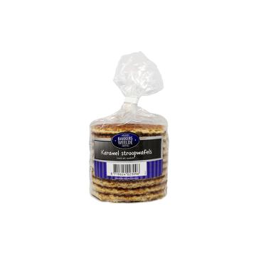 Bakkers Weelde Karamel Stroopwafels 315g/ Galletas Gofre de Caramelo