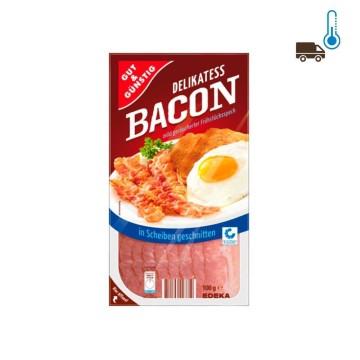 Gut&Günstig Bacon in Scheiben Geschnitten 100g/ Lonchas de Beicon