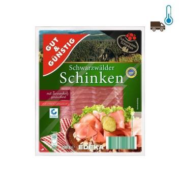 Gut&Günstig Schwarzwälder Schinken 200g/ Jamón Ahumado