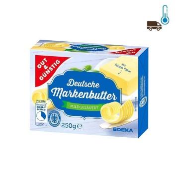Gut&Günstig Deutsche Markenbutter 250g/ Mantequilla