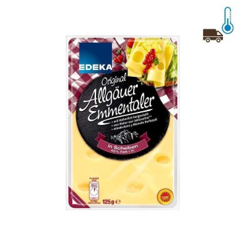 Edeka Emmentaler Scheiben 45% 125g/ Cheese Slices