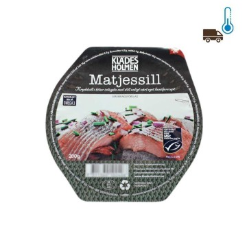 Klades Holmen Matjesfilet Dill 200g/ Herrings Fillets with Dill