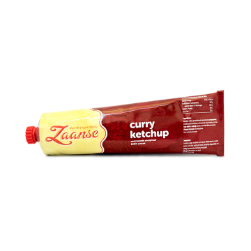 Vw Zaanse Curry Ketchup 160ml/ Ketchup de Curry