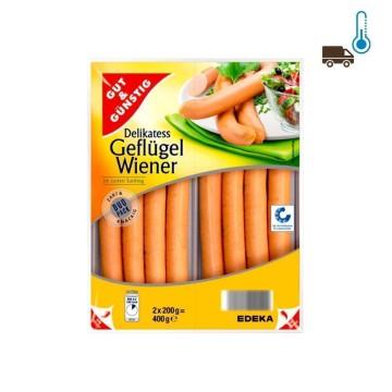 Gut&Günstig Geflügel Wiener 2x200g/ Chicken Sausage