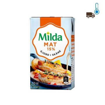 Milda Mat 15% 250ml/ Cooking Cream