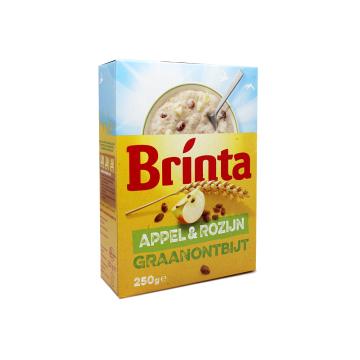 Brinta Appel & Rozijn 250g/ Cereales