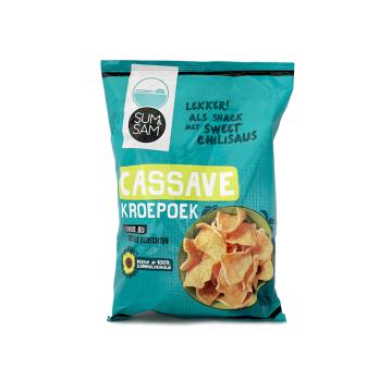 Sum&Sam Cassave Kroepoek/ Prawn Crackers