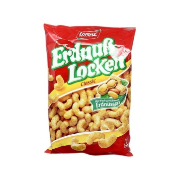 Lorenz Erdnuß Locken 120g/ Curly Peanut