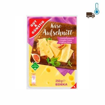 Gut&Günstig Käseaufschnitt 250g/ Variedad lonchas quesos