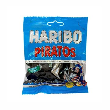 Haribo Super Piratos 120g/ Golosinas Piratas