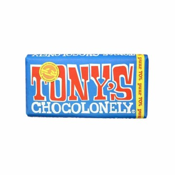 Tony's Chocolonely 70% Puur 180g/ Chocolate Negro