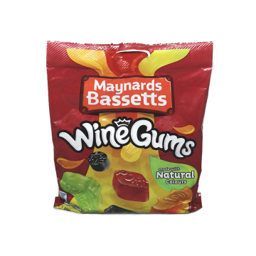 Maynards Bassetts Wine Gums 190g/ Caramelos
