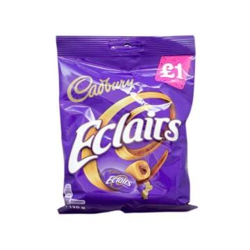 Cadbury Eclairs 130g/ Caramelos Rellenos de Chocolate